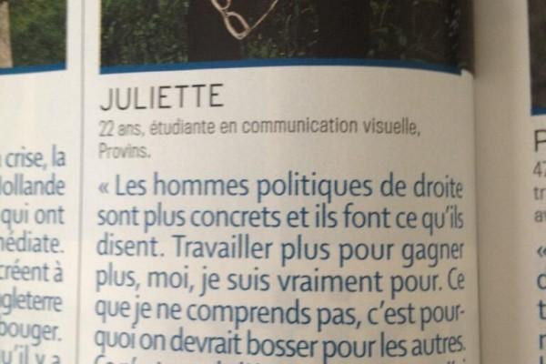 Chère Juliette