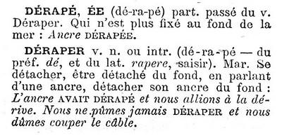 Déraper-Larousse